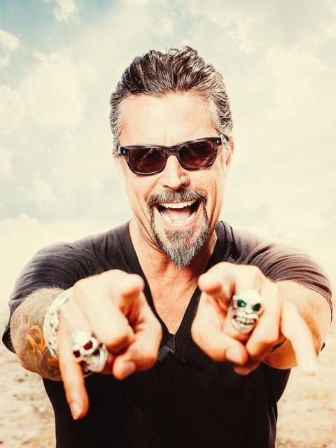 Richard Rawlings (Gas Monkey Garage). The reason I never complain when hubby watches ;)