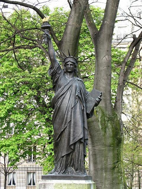 The First Original Statue Of Liberty, Statue Of Liberty Garden