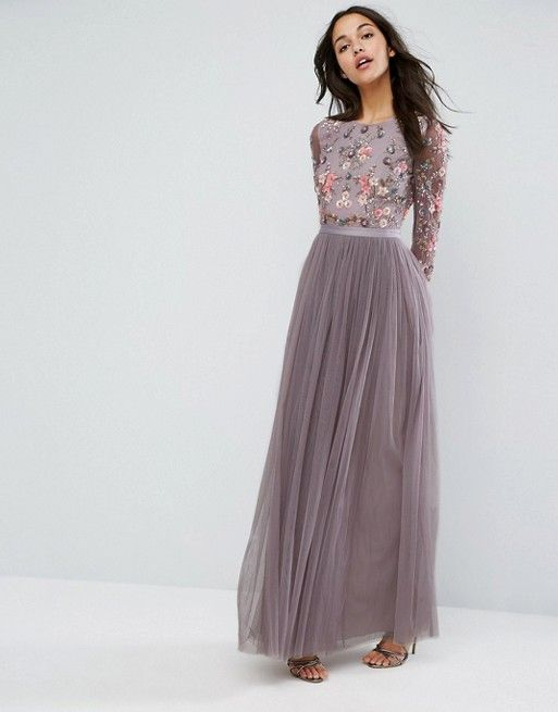 Needle & Thread Ditsy Scatter Tulle Gown