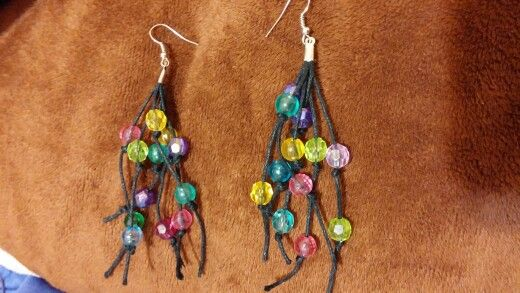 Earring beads