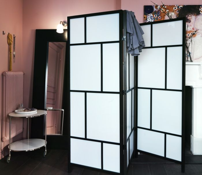 Ris 214 R Room Divider White Black Nooks Good Ideas And House