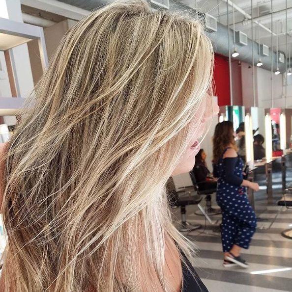 champagne hair color ideas