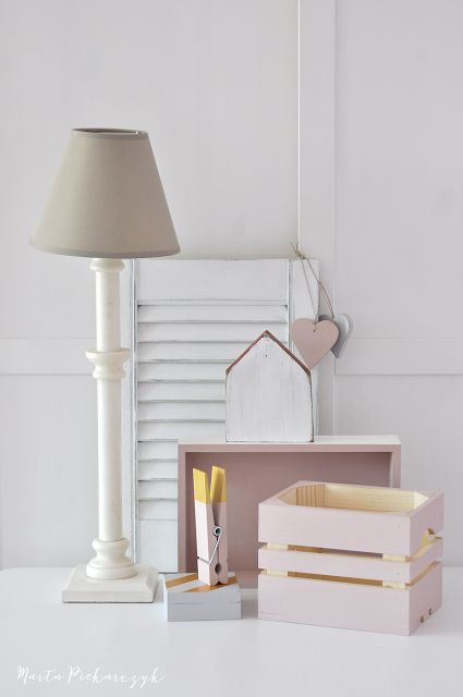 Wood&Crafts - kreatywne malowanie: Różowo ...