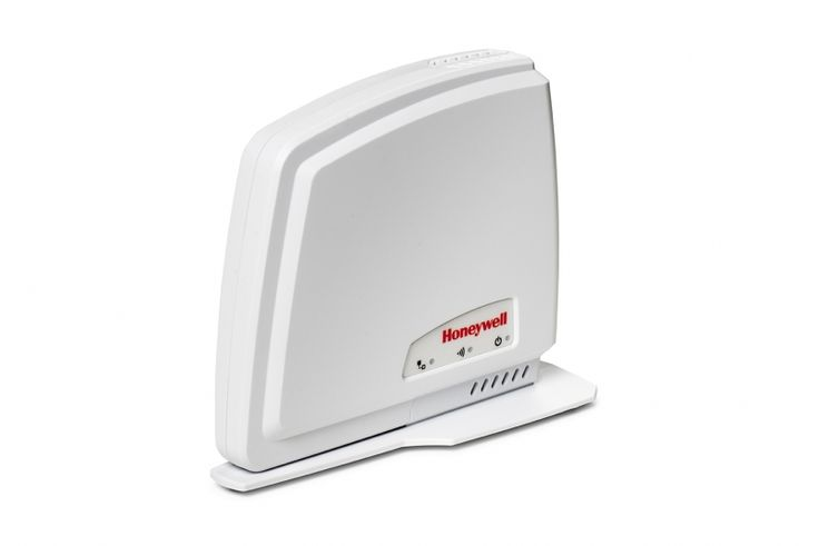 The Honeywell Evohome Mobile Access kit was created so that the single zone thermostat can be controlled remotely by a smartphone or tablet using the Total Connect Comfort App. https://radiator-supplies.co.uk/product/honeywell-evohome-mobile-access-kit/