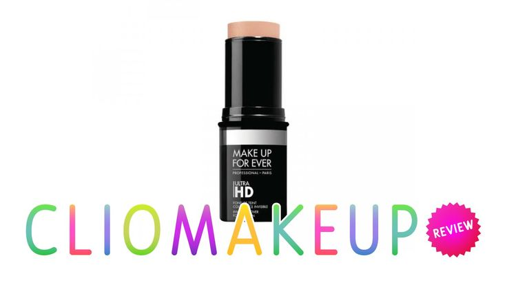 REVIEW RECENSIONE FONDOTINTA ULTRA HD STICK MAKEUP FOREVER