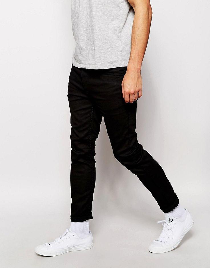 Jeans jogginghose schwarz