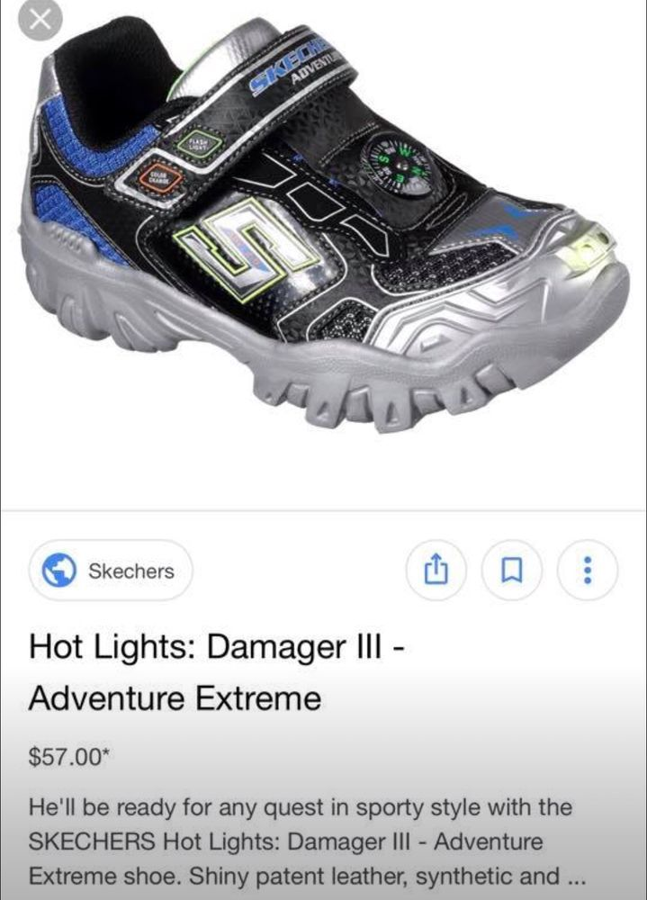 a71957674ffe Boy s Toddler s Skechers Hot Lights Damager II Adventurer Shoe Size 10.5   fashion  clothing  shoes  accessories  babytoddlerclothing  babyshoes  (ebay link)