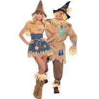 Scarecrow Couples Costumes #partycity #halloween