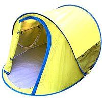 Today's Deals Generic Warm Family 2 Person Tent Yellow sale