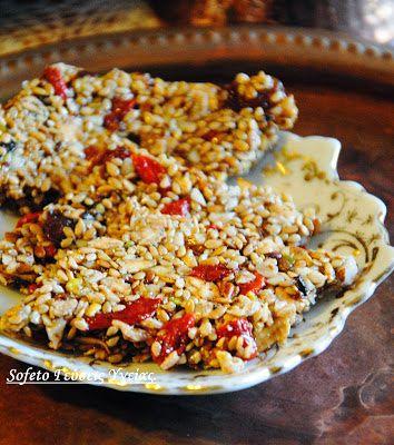 Υγιεινό παστέλι με μέλι αλά Sofeto!