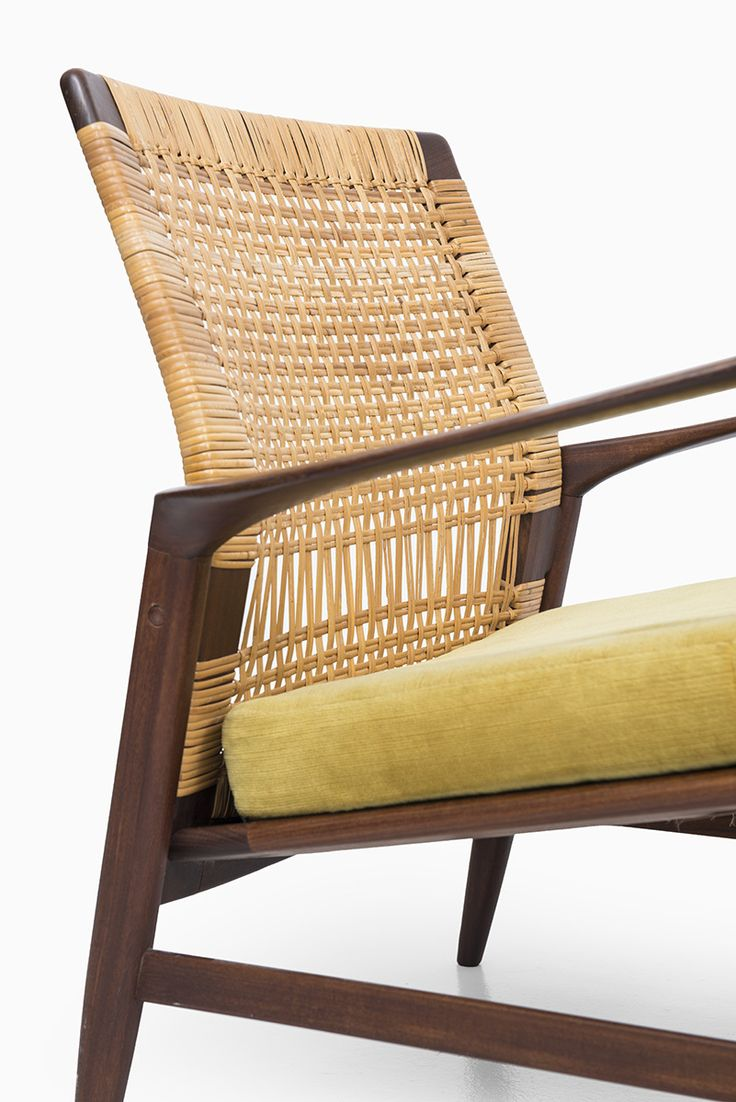 Easy wooden chair designs - Ib Kofod Larsen Re Easy Chair By Ope At Studio Schalling