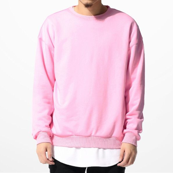 Hip hop swag clothes mens sweatshirts hoodies fashion pink men ...