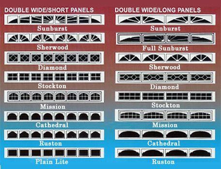 Garage Doors With Windows Styles 22 best garage door windows images on pinterest | garage door