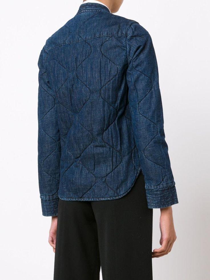 Rachel Comey джинсовый пиджак с завязками на талии