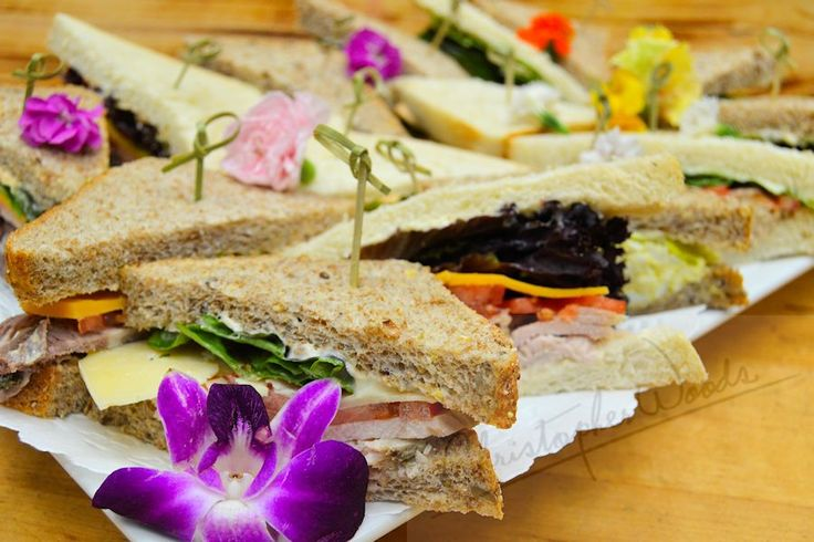 Sandwich platters customized to suit your needs and budget
