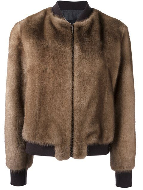 Blancha mink bomber jacket (=)