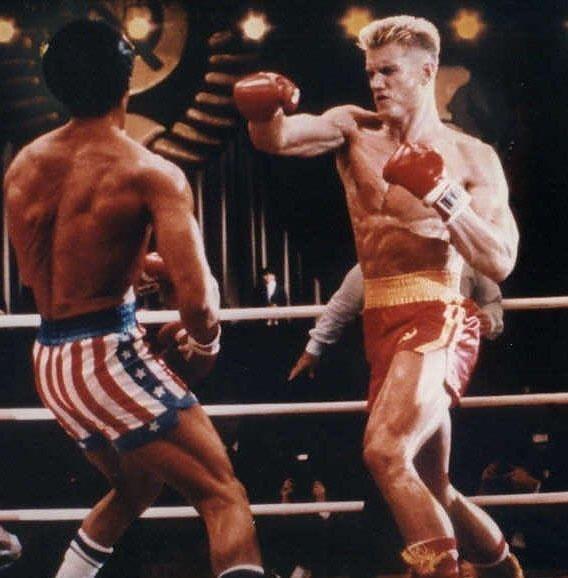 Ivan Drago vs. Rocky Balboa | Rocky | Pinterest | Rocky ...
