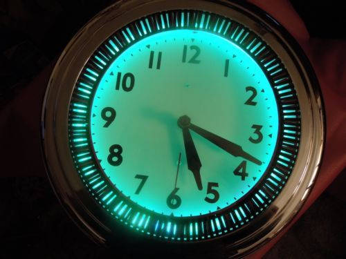 52 Best Vintage Neon Clocks Images On Pinterest Neon