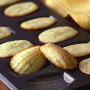 rosemary + parmesan madeleines...a savory take on the cookie recipe that may mean it's time to get a madeleine pan.