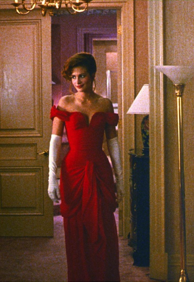Pretty Woman Red Dress Costume Costume designer Maril...