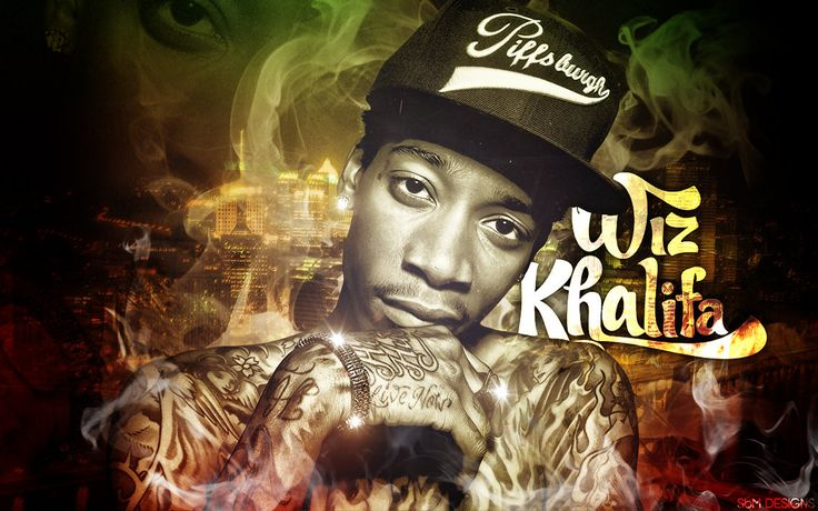 Tyga and Wiz Khalifa Wallpaper   Wiz Khalifa Wallpaper by SBM832 on deviantART