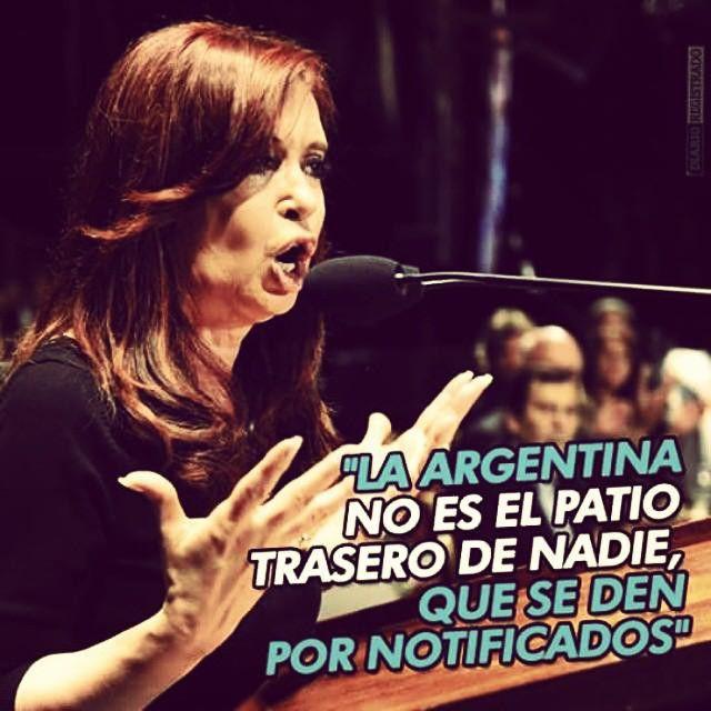 Hermosa @cfkargentina