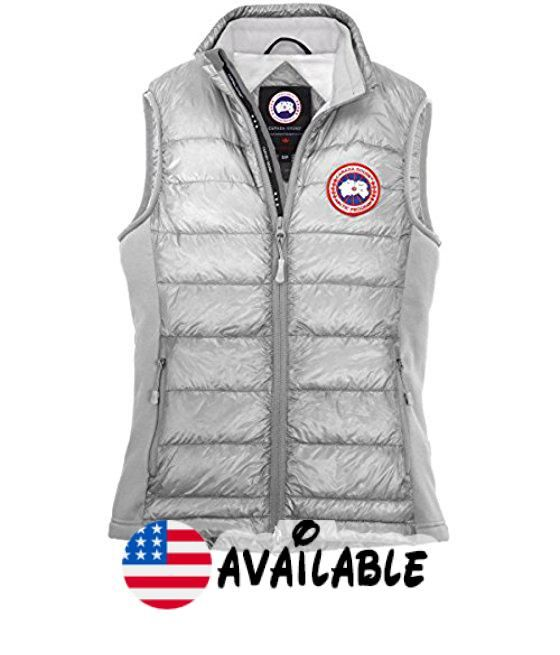 B0117JTE1I : Canada Goose Women's Hybridge Lite Vest Silver Birch X-Large. Quilt-through design keeps this layer lightweight easy to move in and re…
