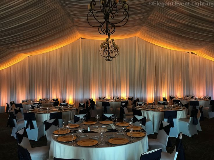 Englewood Resort Spa S Pavilion With Gorgeous Amber Uplighting And An Ceiling Pattern Wash