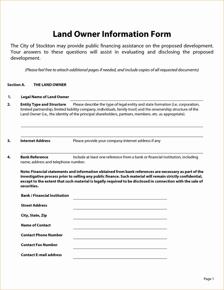 Owner Financed Land Contract Template Best Of Owner