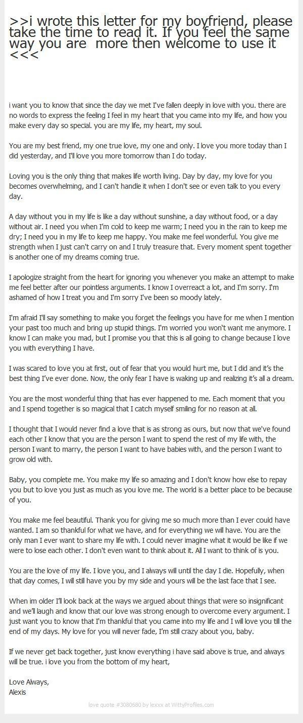 17 Best Ideas About Love Letter To Girlfriend On Pinterest with Best Love Letter For Her