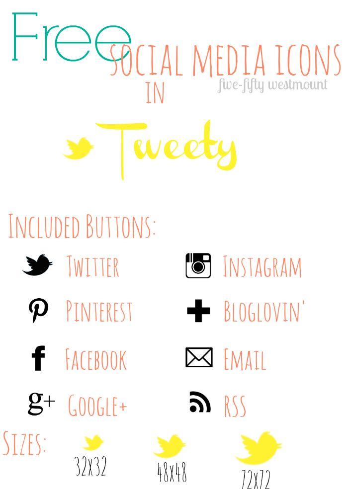 550westmount: Free Social Media Icons