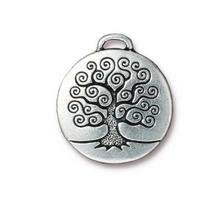 220x220 ch11271 charm albero della vita argentato anticato 23mm