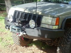 Front winch bumper Jeep Grand Cherokee 93-98 (ZJ)