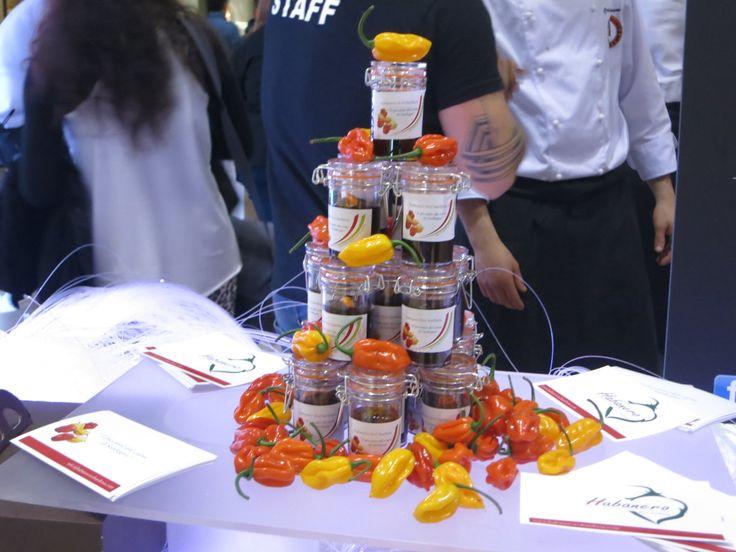 Il piccantissimo peperoncino Habanero, buonissimo in ogni ricetta.