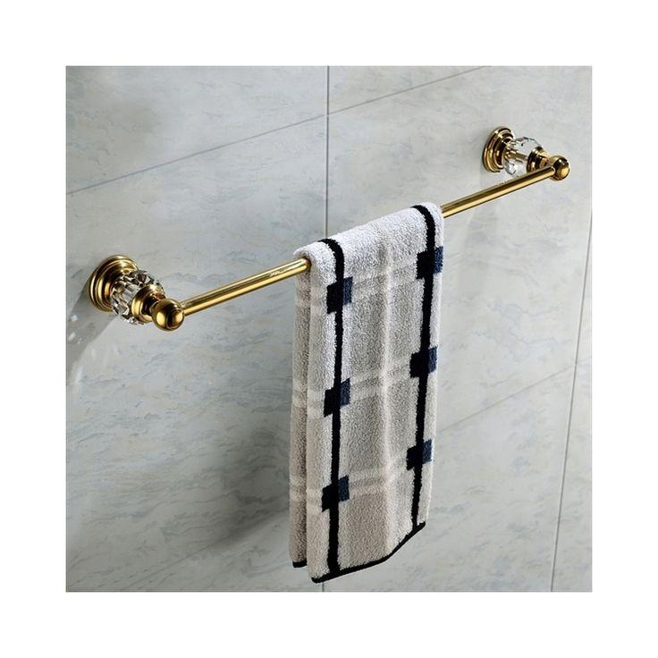 浴室タオルバー タオル掛け タオル収納 壁掛けハンガー バスアクセサリー&クリスタル Ti-PVD BA886124