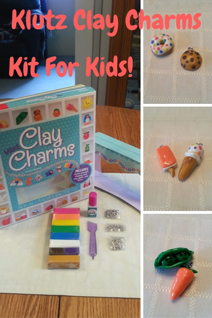 Best crafts for 8 yr old girl - Klutz Clay Charms Kit For Kids