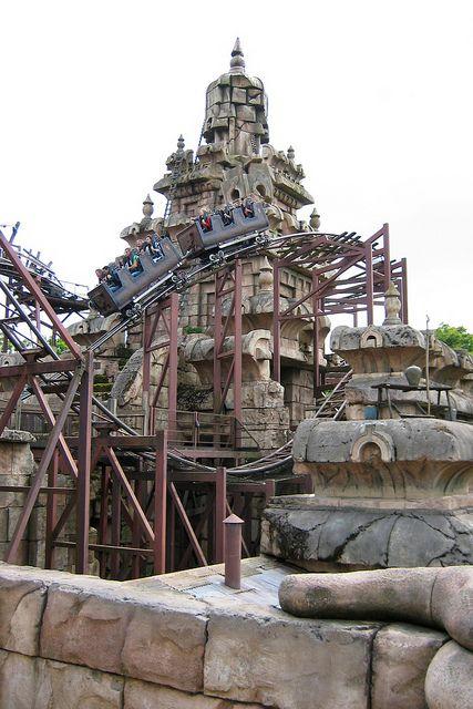 Indiana Jones et le Temple du Péril, Disneyland Paris - Disneyland Park
