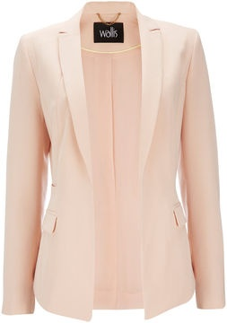 Wallis Pale Pink Tailored Jacket | More pastel lusciousness here: http://mylusciouslife.com/prettiness-luscious-pastel-colours/