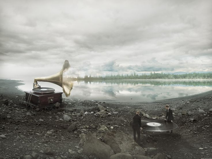 Soundscapes by Erik Johansson.