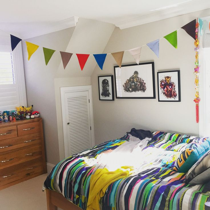 Cheery bedroom for my 12 year old boy 💖