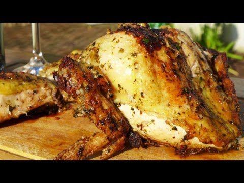 Como hacer Pollo a la Parrilla - Locos X el Asado - YouTube
