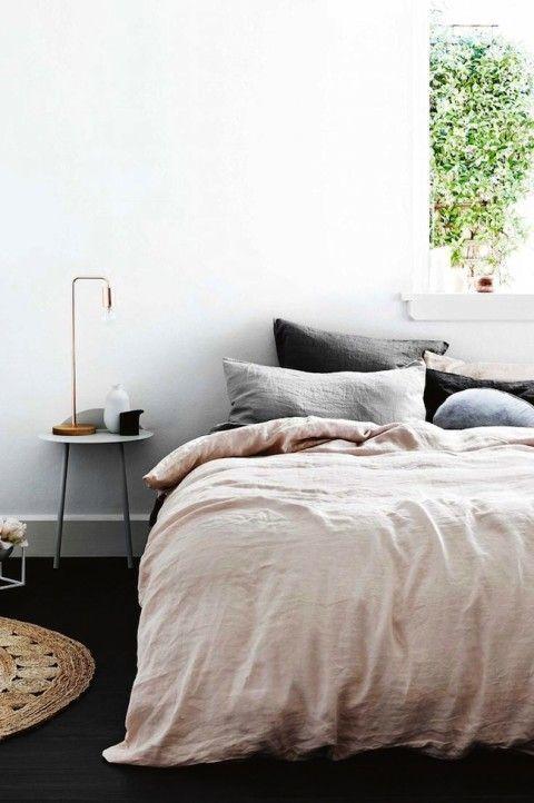 Bedroom styling bedrooms pinterest dusty rose for Dusty rose bedroom ideas