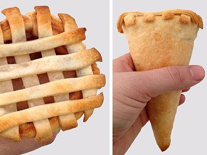 Keresztezték az almás pitét a fagyitölcsérrel http://www.nlcafe.hu/gasztro/20140122/almas-pite-tolcser/