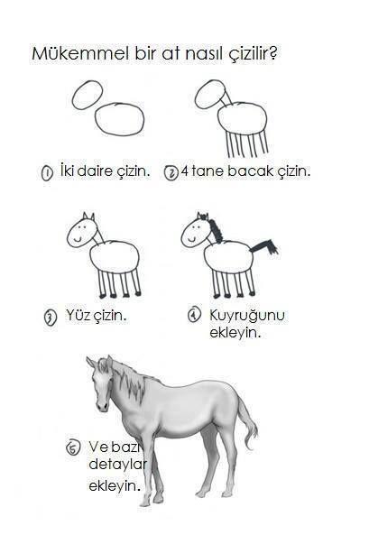 Mükemmel bir at nasıl çizilir? Detaylar sandığımızdan önemlidir.