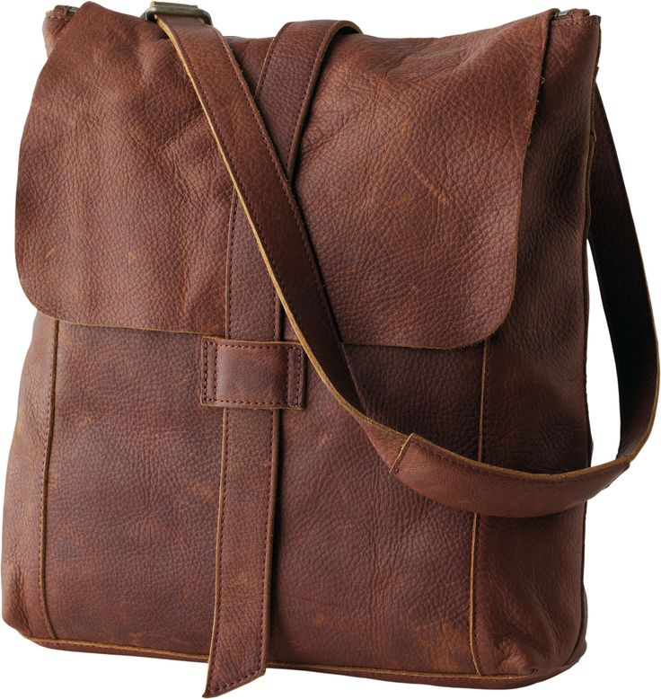 Love this bag, perfect messenger that turns into a backpack, hold cell, iPad, wallet and more. Heavy beautiful leather. I WANT.....