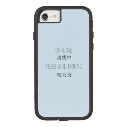 offline feed girlfriend Case-Mate tough extreme iPhone 8/7 ...