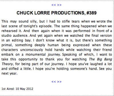 Chuck Lorre Productions 389
