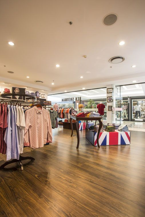 Installation - Ben Sherman Store Waterfront Cape Town