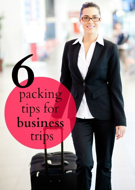 Six best packing practices for business trips