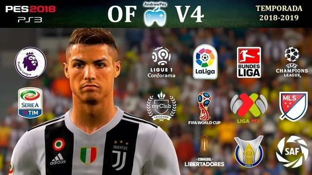 PES 2018 PS3 New Update Option File 2019 Update PES 2018 For Season